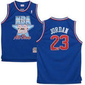 Chicago Bulls Michael Jordan All Star Blue Jersey